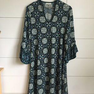 Max Studio Dress long sleeve midi